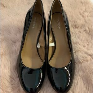 Black merona pumps